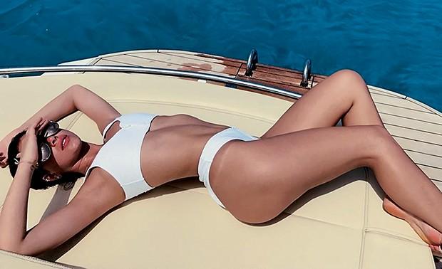 Bruna Marquezine  aproveita as férias  em Formentera, pequena  ilha espanhola  (Foto:  )