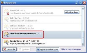 DisableBackspaceNavigation
