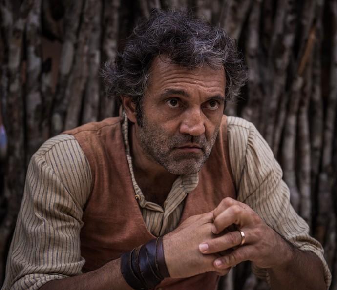 Domingos Montagner assume o papel de Santo na segunda fase de 'Velho Chico' (Foto: Caiuá Franco/ Globo)