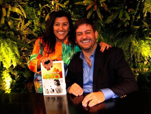 Regina Casé e Bruno Astuto (Foto: MARCOSFERREIRA  /BRAZIL NEWS)