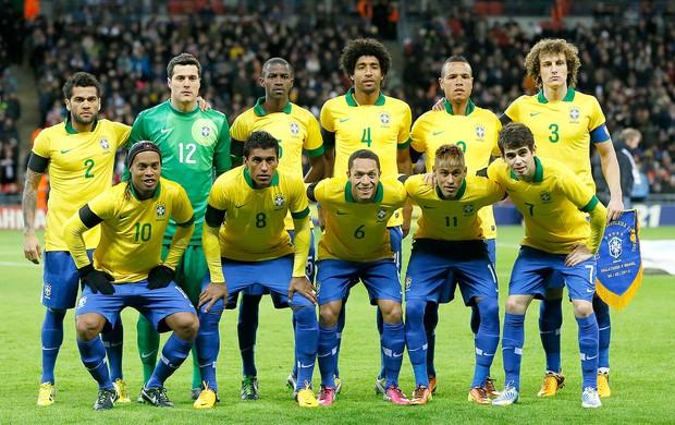 Seleção amistoso do Brasil x Inglaterra (Foto: AP)