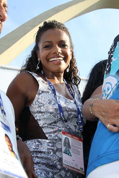 Quitéria Chagas (Foto: Graça Paes e Marcos Ferreira / Foto Rio News)