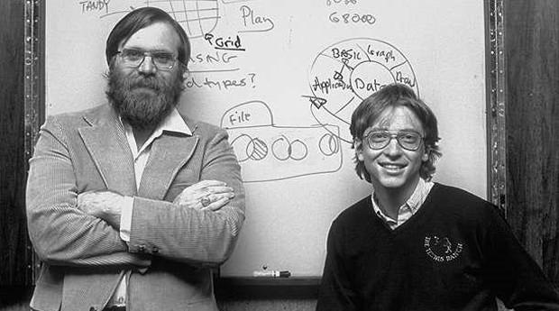 Paul Allen e Bill Gates: a dupla é sinônimo de software (Foto: Reprodução )