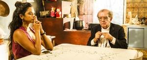 Lucy Alves e Zezita Matos falam sobre morte do ator Umberto Magnani, o padre Romão ( Globo/João Miguel Júnior)