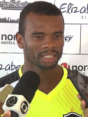 fernandes, botafogo-pb (Foto: Reprodução / TV Cabo Branco)