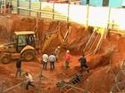 Obra em que operários morreram soterrados era irregular, diz Seplan