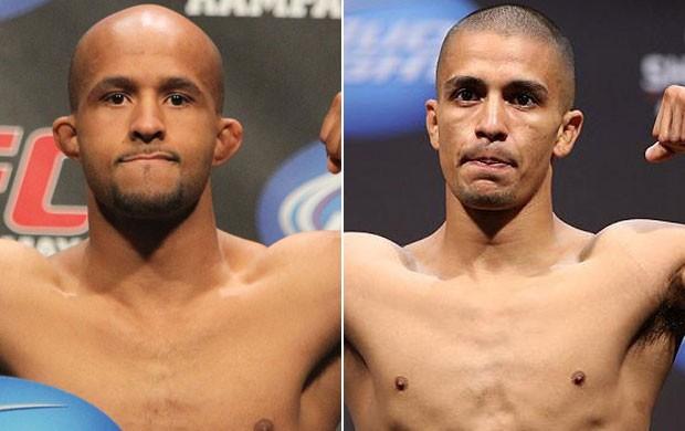 Montagem MMA Demetrious Johnson x John Moraga (Foto: Divulgação/Site Oficial do UFC)