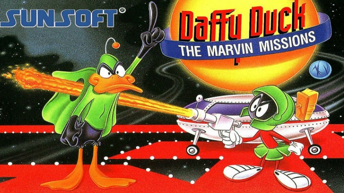 Daffy Duck The Marvin Missions (Foto: Divulgação/Sunsoft)