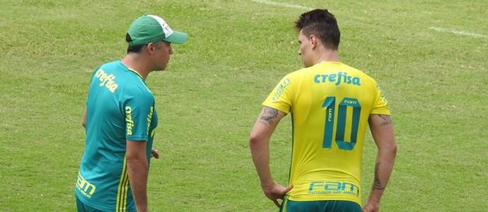Eduardo Baptista e Moisés Palmeiras (Foto: Tossiro Neto)