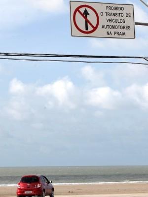 Motoristas poderão ser multados e carros guinchados (Foto: Diego Chaves/O Estado)