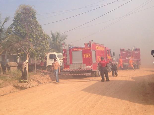 incendio pantanal macapá amapá (Foto: Jessica Alves/G1)