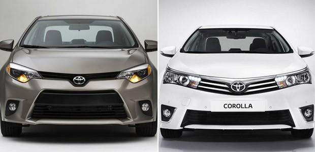 Toyota Corolla compara (Foto: Divulgação)