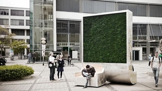 CityTree, a árvore da cidade (Foto: Reprodução)