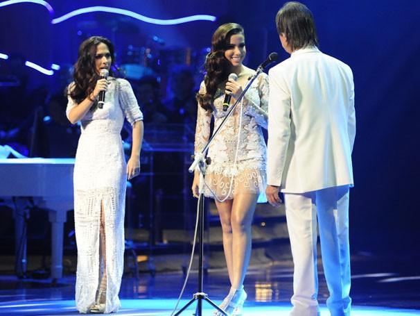 Especial do Roberto Carlos traz convidados como Anitta e Tatá Werneck (Foto: Estevam Avellar / TV Globo)