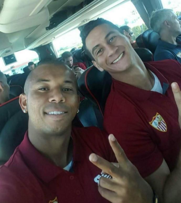 Ganso e Mariano Sevilla