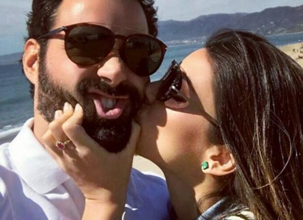 Carol Celico e o namorado, o empresário Eduardo Scarpa (Foto: Reprodução/Instagram)