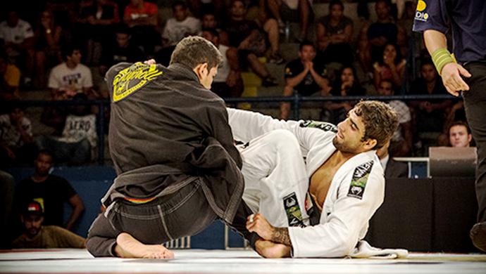 Diego Borges foi medalha de prata na Copa Pódio de Jiu-jitsu no Rio de Janeiro-RJ (Foto: Arquivo Pessoal)