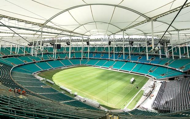estádio Fonte Nova Copa (Foto: AFP)