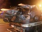 Duas pessoas morrem e uma fica em estado grave em acidente em rodovia
