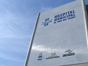 Hospital Municipal foi inaugurado nesta segunda-feira (30) (Foto: Reprodução/TV Diário)
