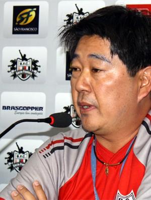 Tanaka pede paciência ao torcedor botafoguense (Foto: Cleber Akamine / GLOBOESPORTE.com)
