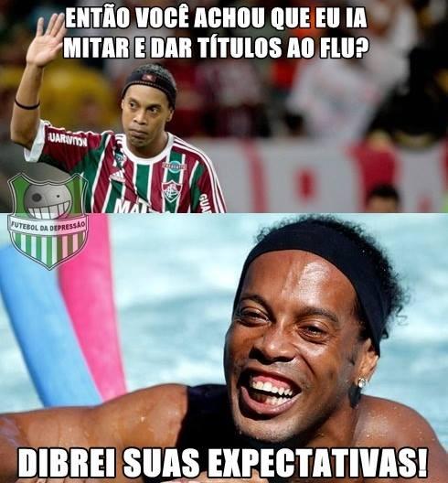 Zoação Ronaldinho