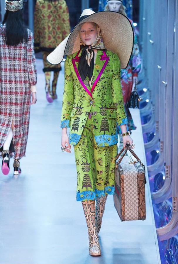 Semana de moda de Milão (Foto: Reprodução)