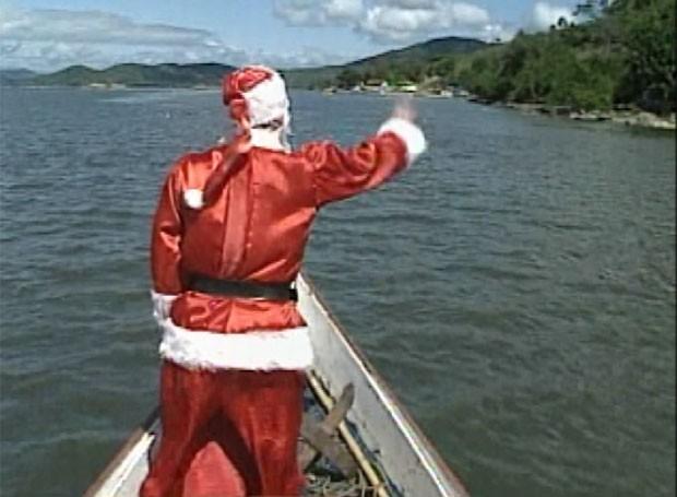 Painel RPC, deste sábado (19), conta a história do Papai Noel das Ilhas (Foto: Reprodução/RPC)