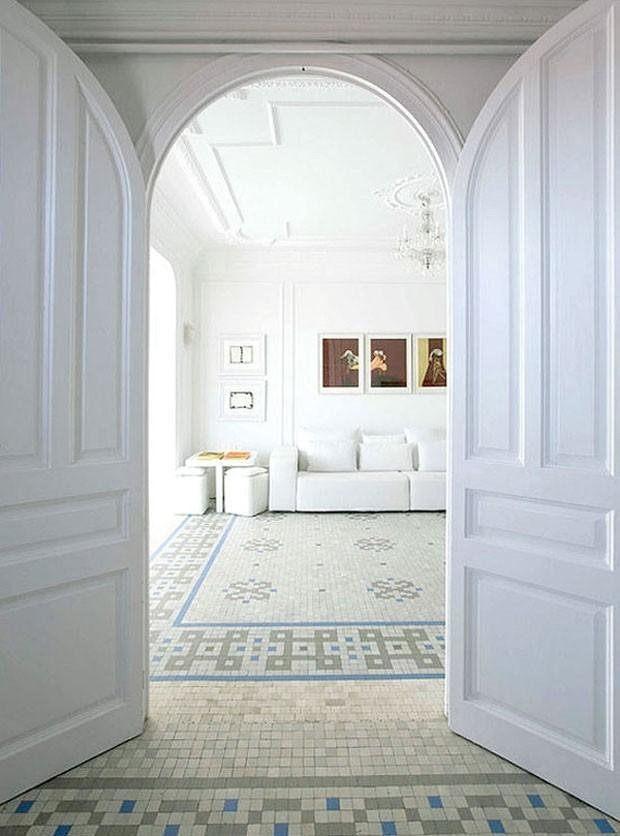 Sala branca: 14 jeitos de decorar (Foto: Filippo Bamberghi)