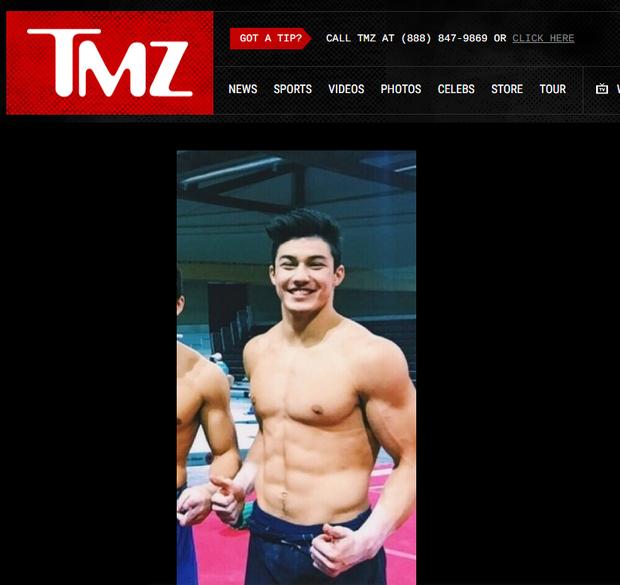 Arthur Mariano no TMZ (Foto: Reprodução)
