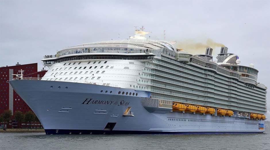 Harmony of the Seas: o maior navio de cruzeiro do mundo (Foto: Wiki Commons)