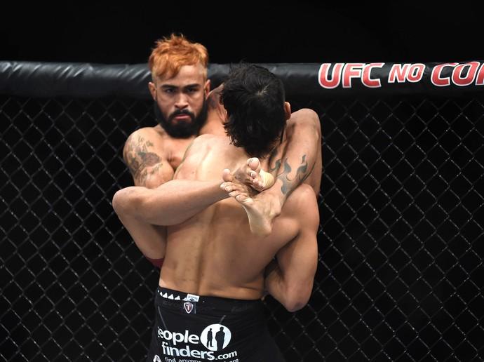 UFC Rio 6 - Godofredo Pepey x Andre Fili (Foto: André Durão)