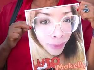 Travesti Makelly Castro morreu asfixiada na Zona Sul de Teresina (Foto: Reprodução/Tv Clube)