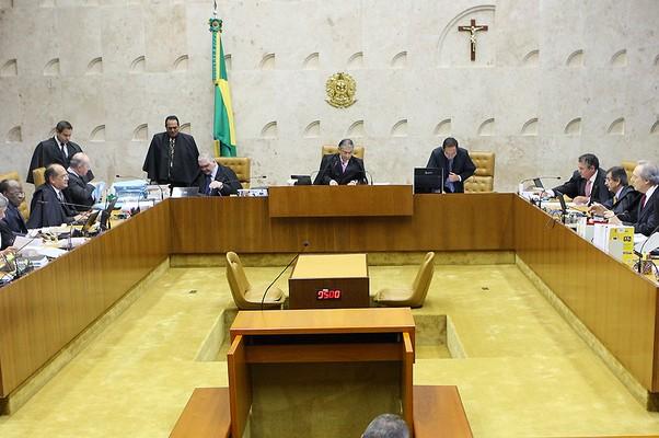 Ministros chegaram a discutir durante análise de pedido feito por advogados (Foto: Divulgação/STF)