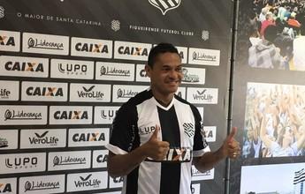 Hélder e Leandro Almeida: Figueirense apresenta mais dois contratados