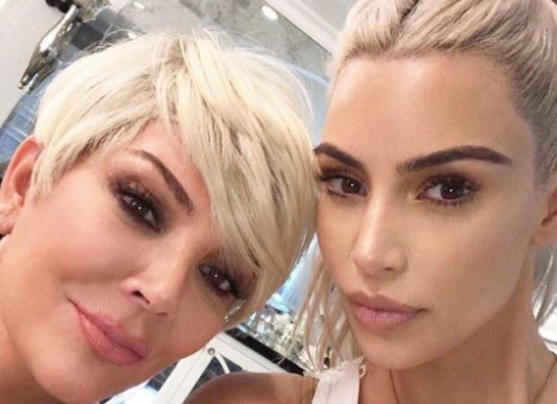 Kris Jenner e Kim Kardashian (Foto: Reprodução/Instagram)
