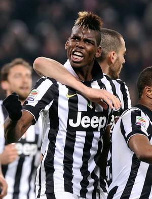 Juventus x Sassuolo - Pogba comemora gol_Reuters (Foto: Reuters)