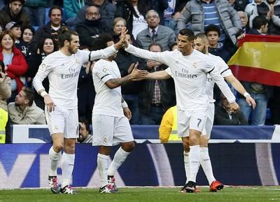 Bale Cristiano Ronaldo Real Madrid Rayo Vallecano (Foto: EFE/Fernando Alvarado)
