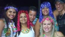 Veja quem participou do quadro 'selfie de carnaval' do tvtribuna.com (Arquivo Pessoal)