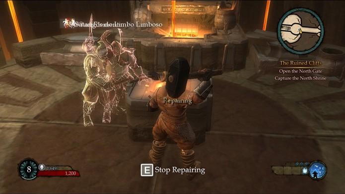 Ao das aventuras do game é possível acompanhar o progresso dos avatares de outros jogadores (Foto: Reprodução/Daniel Ribeiro)