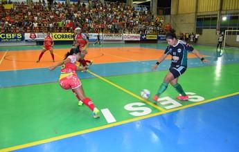 Semifinais do Amazonense de futsal feminino sub-20 ocorre nesta segunda