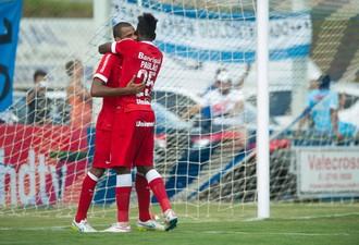 Lajeadense x Internacional Paulao Inter Ernando Inter Paulao Ernando (Foto: Alexandre Lops/Divulgação Inter)