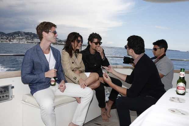 Brasileiros em Cannes (Foto: Felipe Panfili / AgNews)