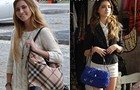 Sofia e Flaviana sempre combinam o look com uma bolsa que valorize o visual (Foto: Malhação / TV Globo)