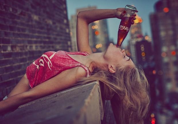 'Sinta o sabor': nova campanha da Coca-Cola (Foto: Divulgação)