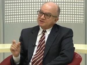 Raimundo Vales, presidente do TRE Amapá' (Foto: Reprodução/TV Amapá)