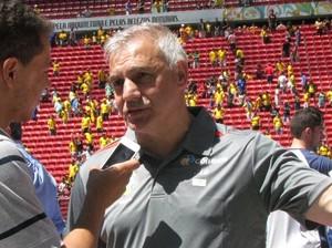 Sérgio Luiz Schiochet, técnico da Seleção Brasileira (Foto: Assessoria/CBFS)