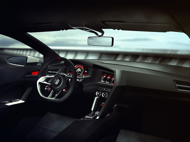 Golf Design Vision GTI tem espaço interno maior (Foto: Divulgação)