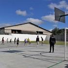 Nogueirão ganha quadra esportiva e aulas para a comunidade (Guilherme Berti)