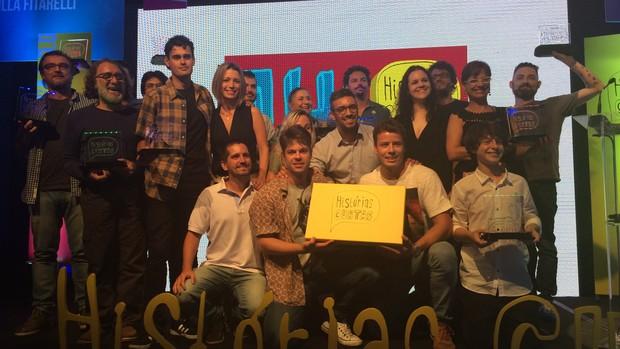prêmio HC 14 (Foto: Daniela Kalicheski/RBS TV)